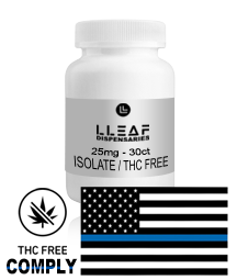 isolate. THC FREE / Isolate, 25mg CBD Capsules . Buy quality cbd online, shoplleaf.com