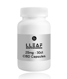 full-spectrum. 25mg CBD Capsules. Buy quality cbd online, shoplleaf.com